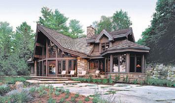 Free home plans lindal home designs for Lindal log cabin homes